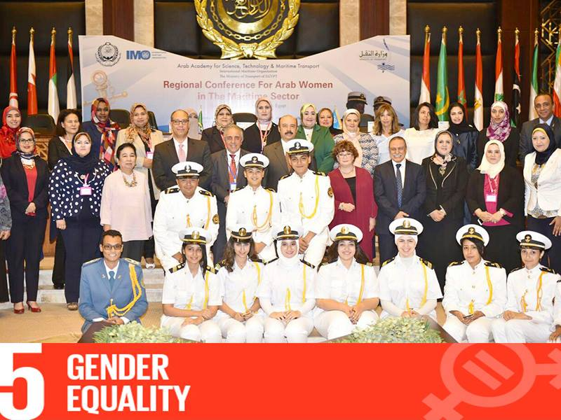Launching of Arab Women Association in Maritime sector (AWIMA) on 19th October 2017