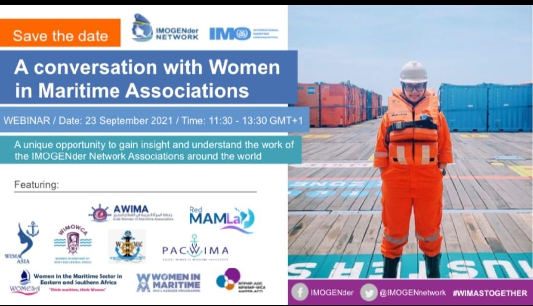 Webinar: A conversation with Women in Maritime Associations
